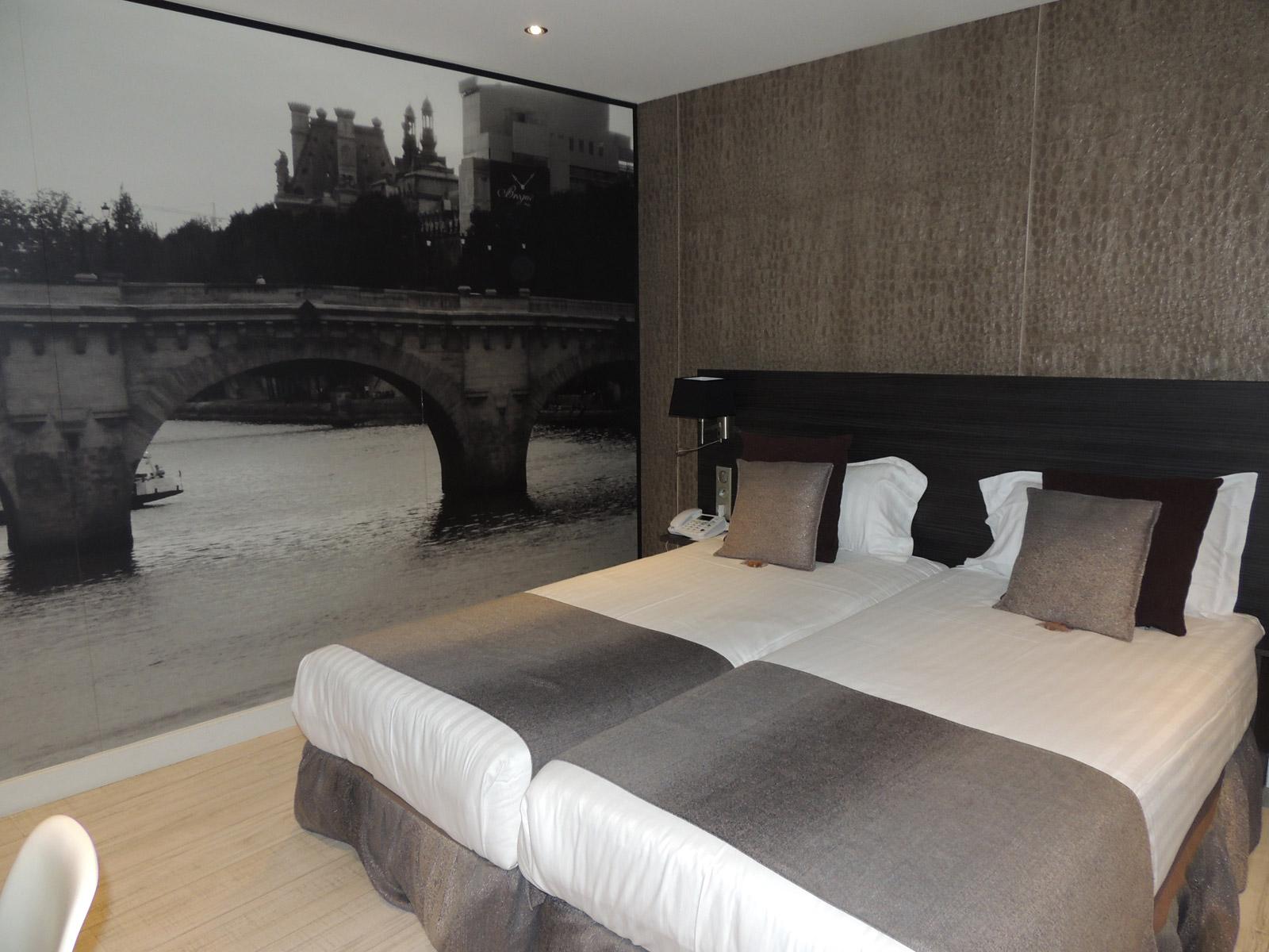 Chambres et h´tel pas cher en plein coeur de Paris